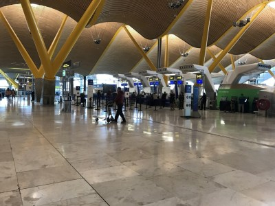 Madrid airport check in latam