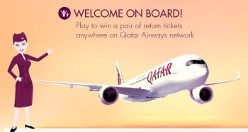 Win qatar tickets oneworld flying
