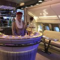 ITB bits: new Emirates A380 bar, my video of the new Qatar Airways Qsuite