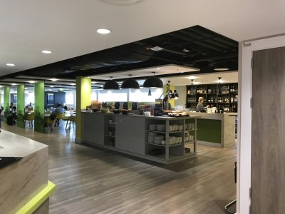 Escape Lounge Stansted Airport review 4