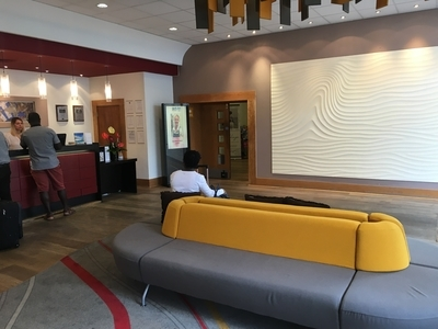 Park Inn Palace hotel Southend on Sea review lobby