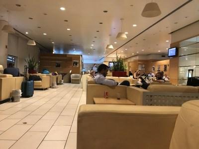 Norwegian premium review - Alitalia lounge New York JFK Terminal 7