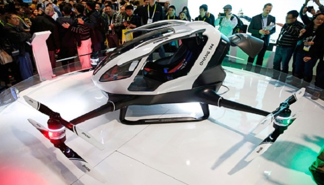 Alta tecnología en los drones CES 2016