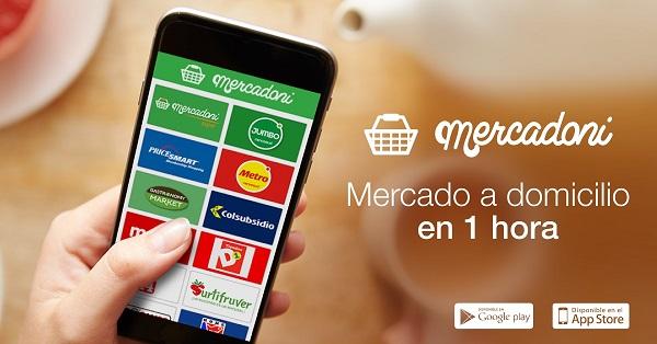 startup app mercado online domicilio
