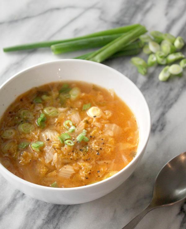 Paleo Kimchi Soup