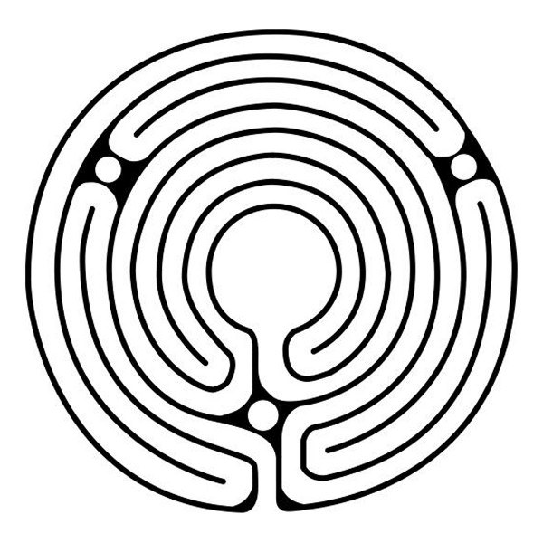 how to draw your own 7 circuit labyrinth