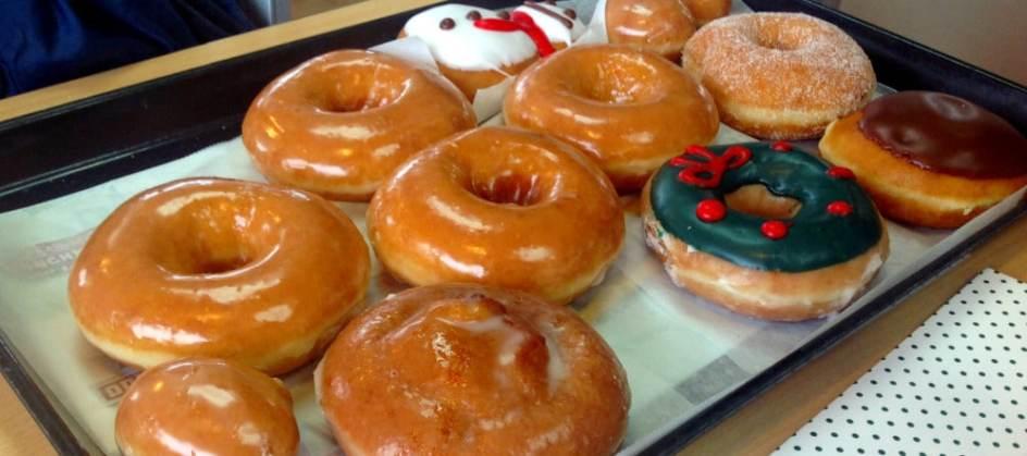 Doughnut Tasting at Krispy Kreme - Tray 1