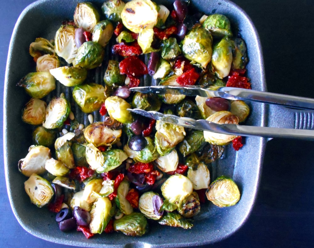 Brussels Sprouts - Mediterranean Style