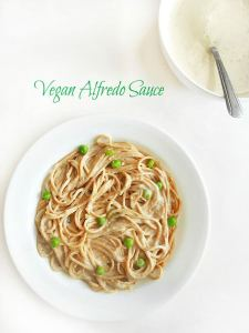 The BEST Vegan Alfredo Sauce Recipe - Perfect for any spaghetti recipe. Vegan meals have never been simpler or more delicious. This recipe uses Almond milk, cauliflower and nutritional yeast. This is a 30 minute recipe and is lo carb.