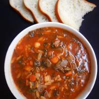Orzo Soup Recipe (Vegan)