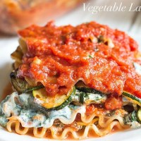 Homemade Vegetarian Lasagna Recipe