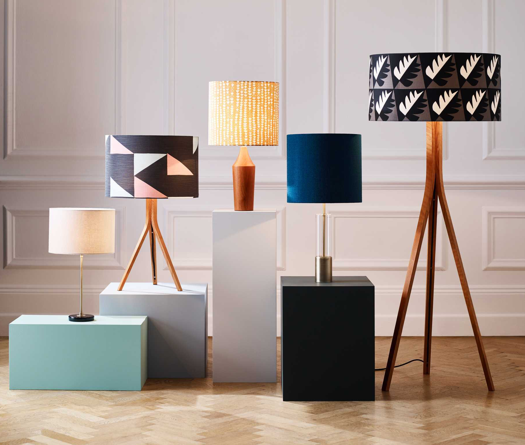 Mix It Up With Our New Lamp Shades Bases Collection