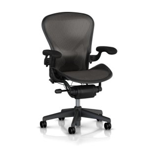Aeron Chair by Herman Miller Best Ergonomic Office Chair