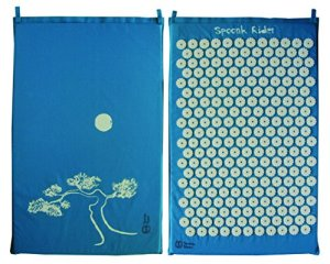 Cotton Pagoda Blue Acupressure Mat