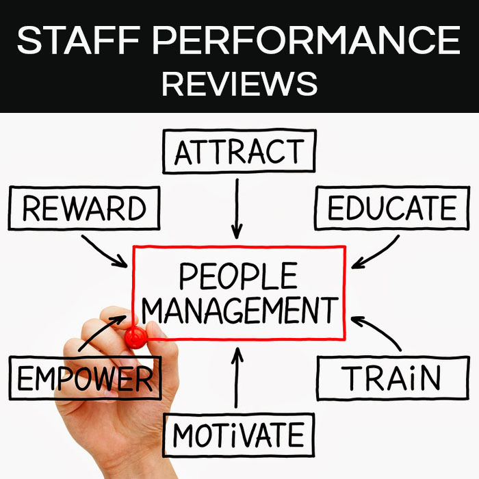 HANDLING THE DREADED STAFF PERFORMANCE REVIEWS Healthcare