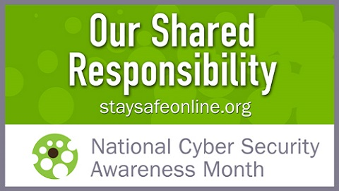 The Friday Five – National Cyber Security Awareness Month