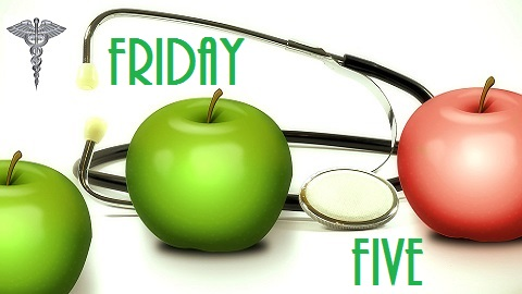 The Friday Five – National Apple Month