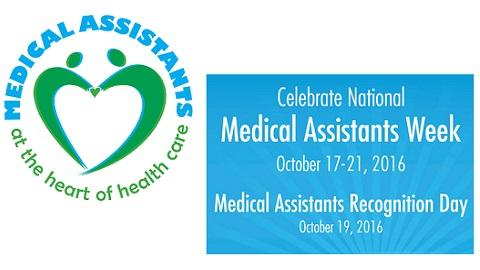 Medical Assistants Recognition Week – October 17 – 21, 2016