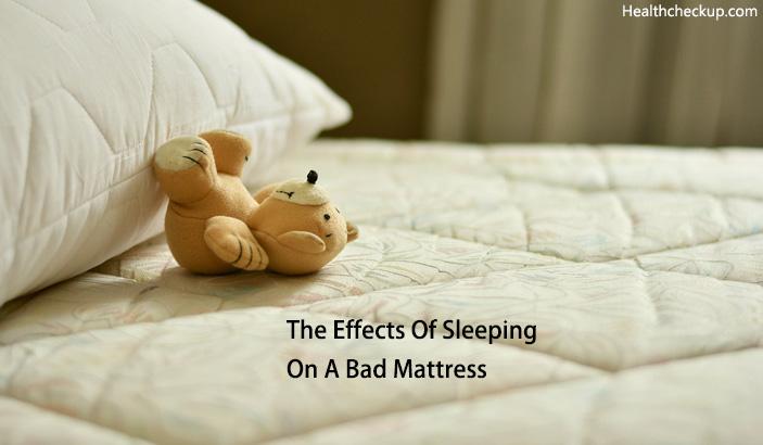 10 Annoying Health Side Effects Of Sleeping On A Bad Mattress