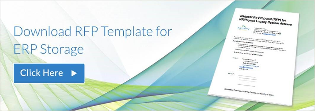 Sample RFP Template for HR System (ERP) Data Storage HDA