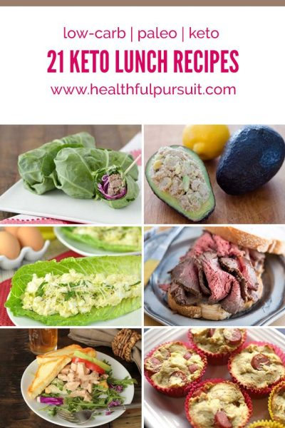 21 Keto Lunches | Healthful Pursuit