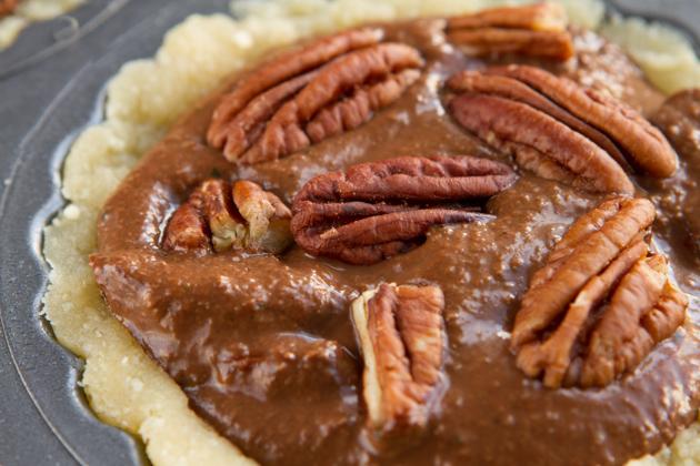 Paleo Coconut Pecan Pie