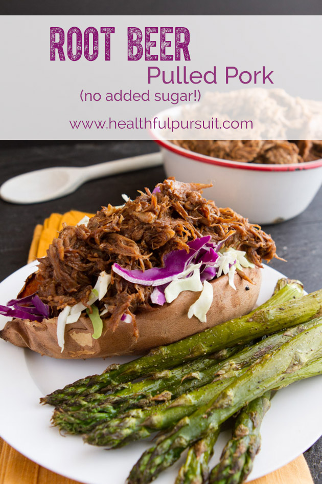 Paleo Slow Cooker Root Beer Pulled Pork