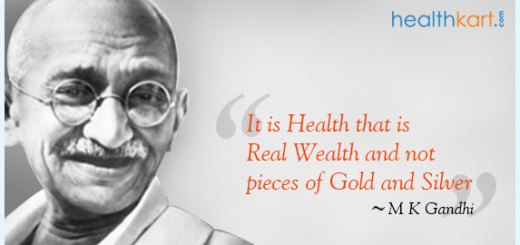 Healthy Bites by Mahatma Gandhi