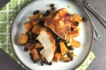 chipotle chicken and sweet potatoes