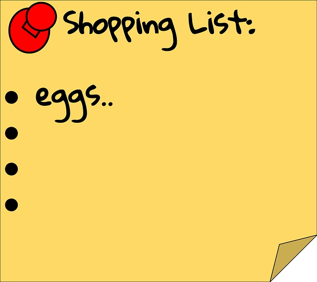 Healthy Grocery List from Healthy Diet Habits