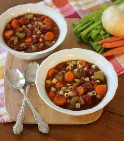 Pasta E Fagoli Soup Healthy Liv