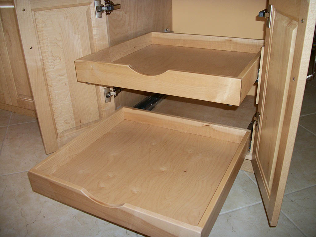 drawers kitchen cabinet drawers Lewis Kitchen Double Dovetail Rollouts
