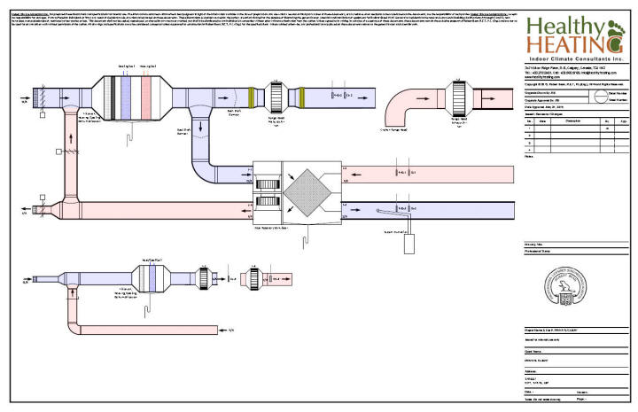 Hvac Drawing Samples Wiring Diagram