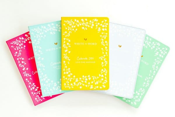 Write the Word Journal Healthy Living Mom