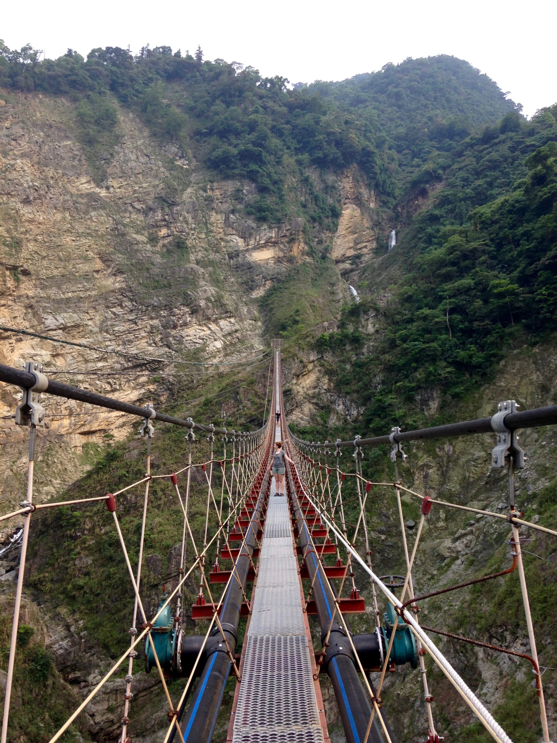 Taiwan's Scariest Suspension Bridge