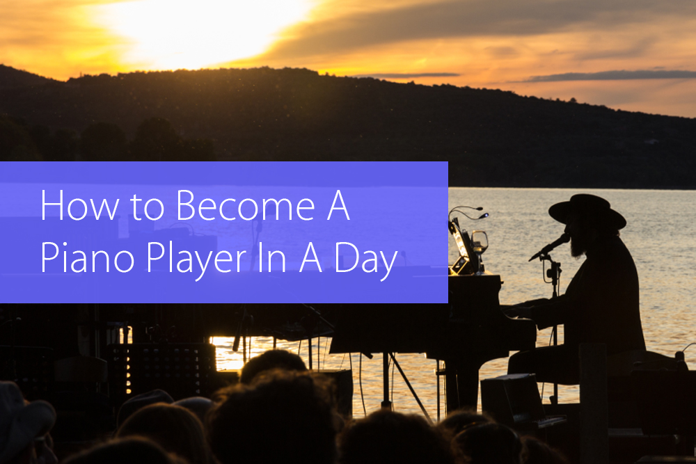 4-Chord Songs How to Become A Piano Player In A Day - Hear and Play