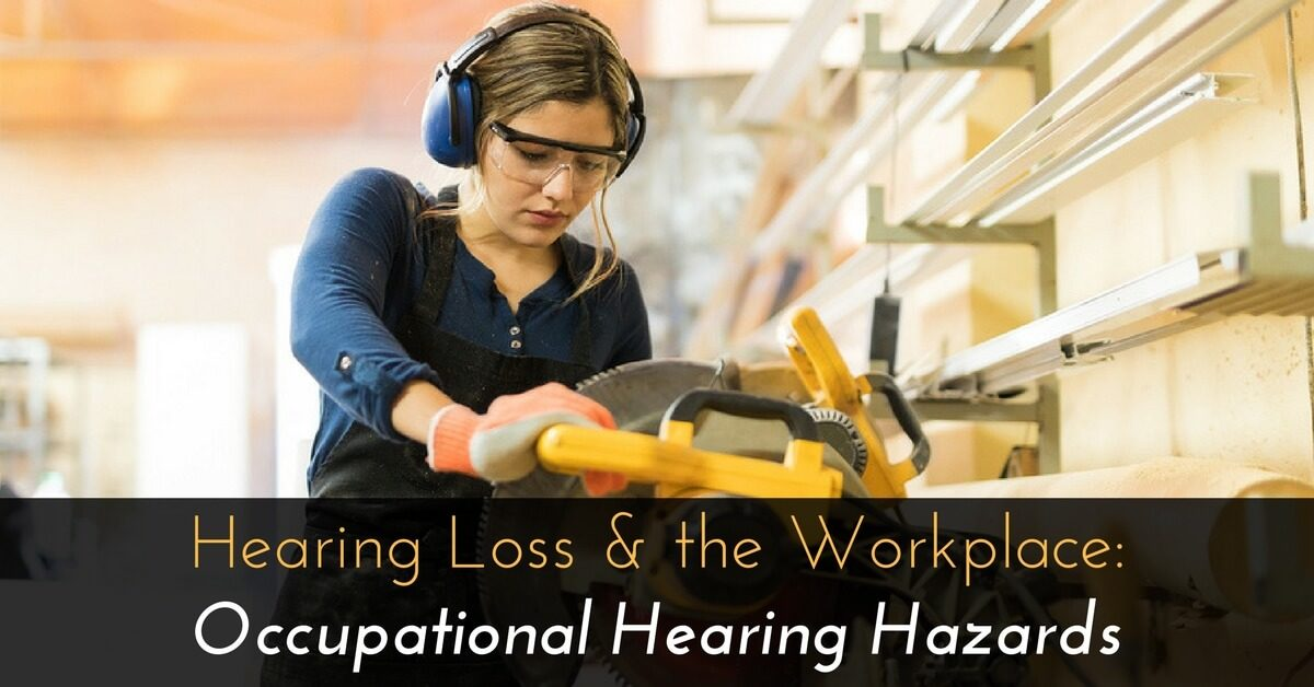 Hearing Loss  the Workplace Occupational Hearing Hazards - jobs for people with hearing loss