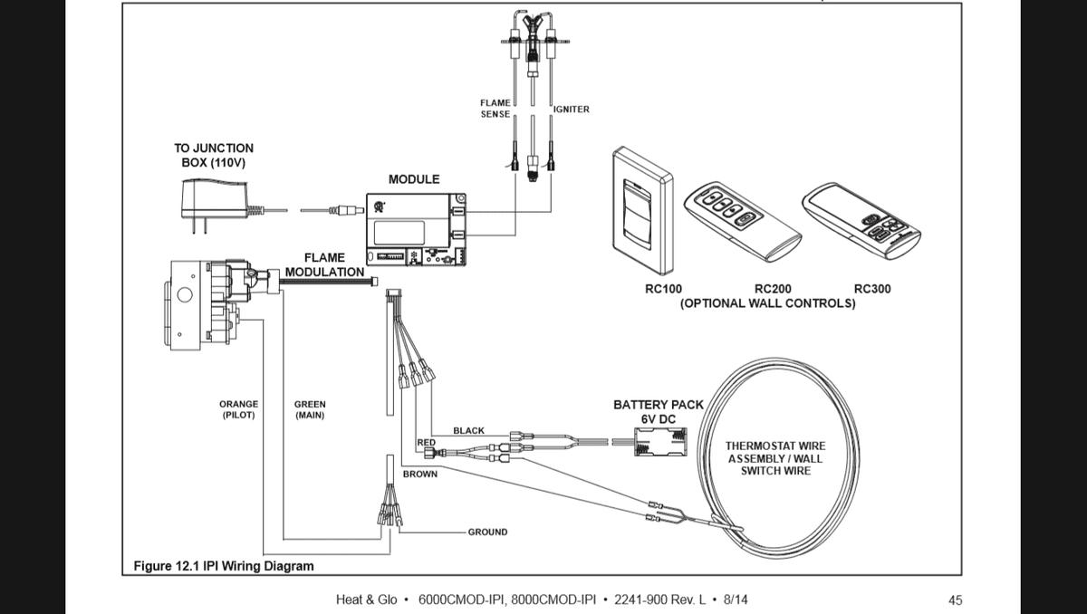 heat n glo wiring diagram