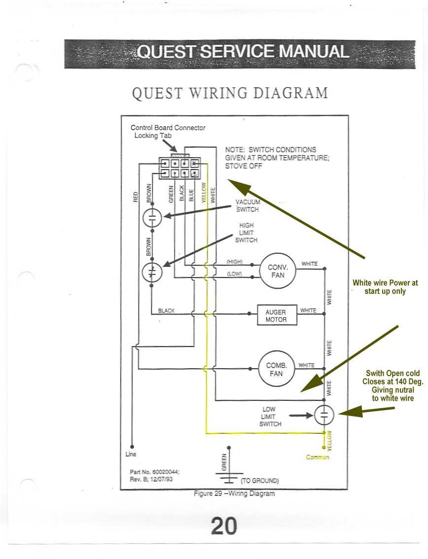 furnace limit switch wiring diagram oil furnace limit