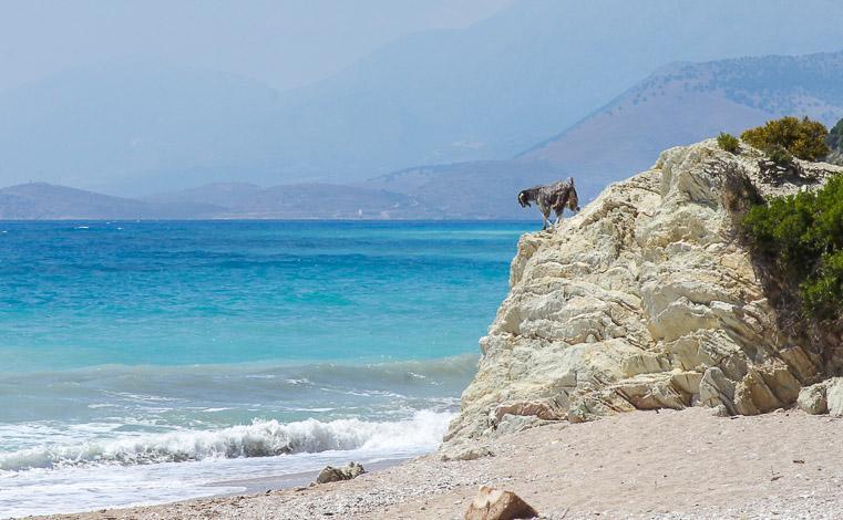 beaches Albanian Riviera