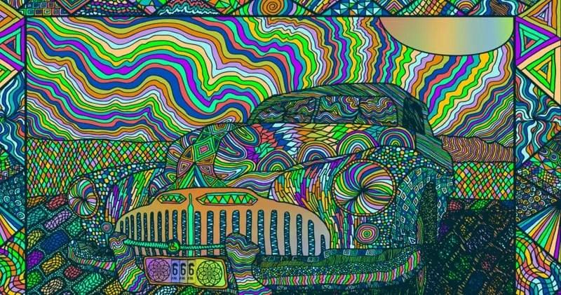 Dmt Wallpaper Hd Hoc Art Tuesday S Michael Fuchs Amp His Psychedelic Art