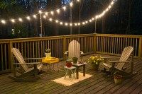 DIY Deck Lighting | Hearts and Sharts