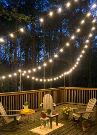 DIY Deck Lighting | Hearts & Sharts