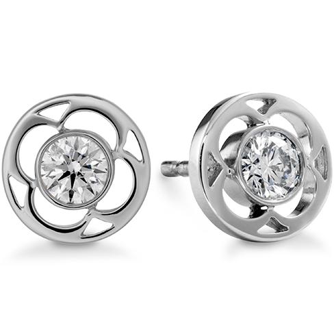 Copley Single Diamond Stud Earrings