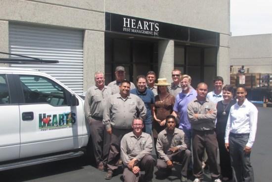 Hearts staff