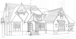 House Design Plan Sketch