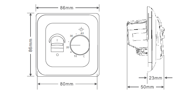 heating system thermostat