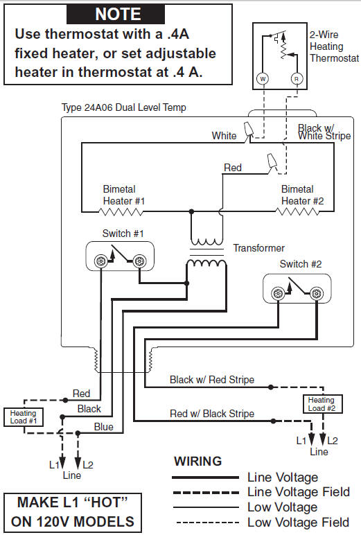 white rodgers fan relay wiring diagram