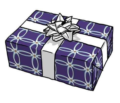 Spoonflower Giftwrap from Spatial H