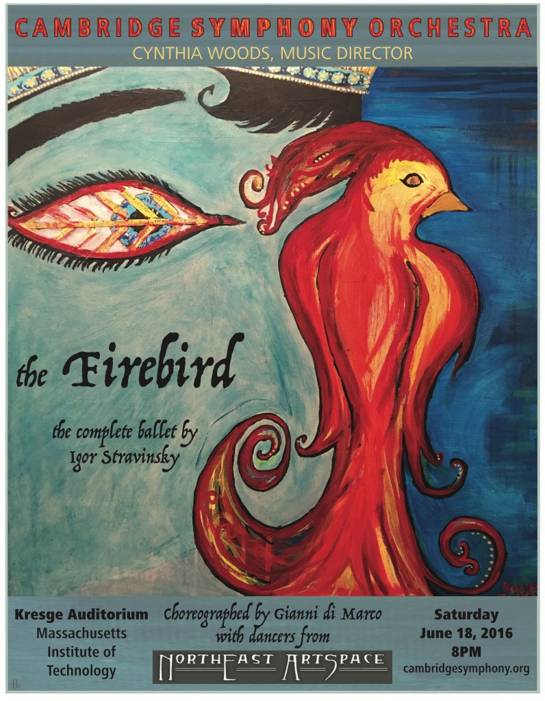 The Prince and the Firebird - CSO Posters